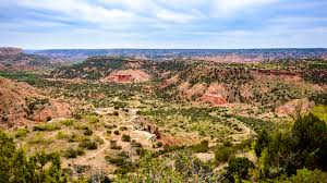 Caprock Canyon State Park Map by Trip Guide Palo Duro Canyon