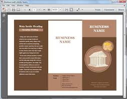 brochure templates for pdf
