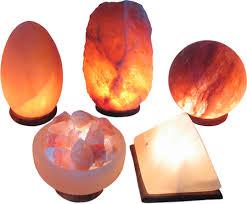 himalayan salt l diffuser lumière de sel shaped himalayan crystal salt ls ecoideas