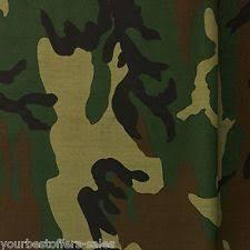 Marine Grade Vinyl Upholstery Fabric Camo Polyester Camouflage 46