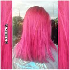 hair color 201 hot pink hair color with color lock smoothing treatment