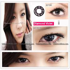 eos diamond violet contact lens pair 218v 14 99 colored