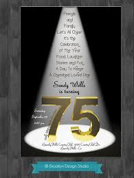 Favors For 75th Birthday by 75th Birthday Ideas 75th Birthday Bash Custom Designed By