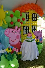 peppa pig decorations 16 peppa pig birthday party ideas pretty my party