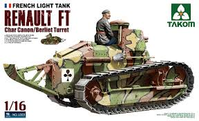 french renault tank 1003 1 35 french light tank renault ft char canon berliet turret