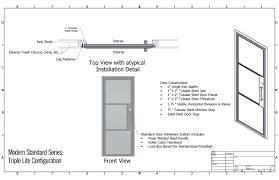 Iron Door Specifications Presidio Steel Doors  Windows - Bathroom door threshold 2