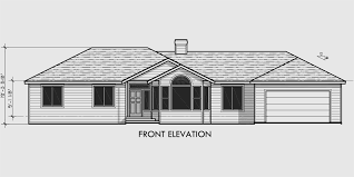 House Shop Plans Single Level House Plans 3 Bedroom 2 Bath House Plans 10077wd