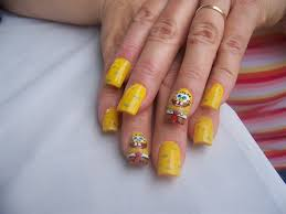 sponge bob nail art gallery