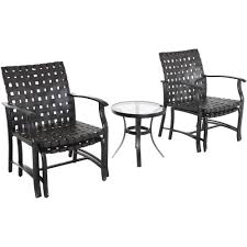 Patio Table And Chairs by Mainstays Willow Valley 5 Piece Chat Set Walmart Com