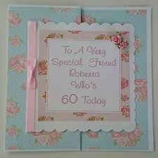 personalised 60th birthday card special friend 50th 70th mothers