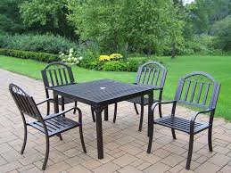 Wrought Iron Patio Dining Set Outdoor Garden Captivating Rochester Wrought Iron 5