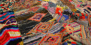 bold bright beautiful boucherouite rugs at green front