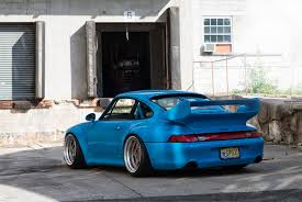 porsche mint green paint code extremely rare porsche 993 gt2 in deep blue color fitted with