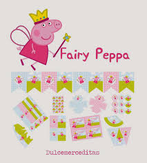 fairy peppa pig free printable kit is it for parties is it