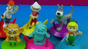 the jetsons 1990 wendys presents meet the jetsons movie set of 6 toys video