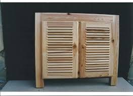 ier cuisine pas cher meuble persienne cuisine cuisine bois style persiennes porte meuble