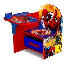 amazon com delta enterprise spiderman chair desk with storage bin