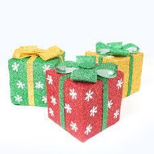 folding gift box tree ornaments decoration