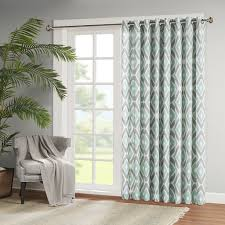 Patio Window by Amazon Com Madison Park Ashlin Diamond Printed Patio Curtain 100