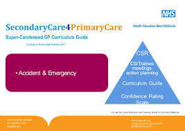 csr cs trainee meetings action planning curriculum guide