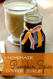 pumpkin spice for coffee homemade pumpkin spice coffee syrup recipe in katrina s kitchen