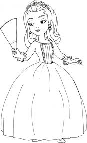princess amber sofia coloring pages 17289