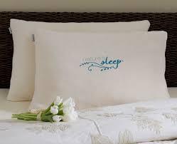nature u0027s sleep faux gel fiber pillow u0026 reviews wayfair