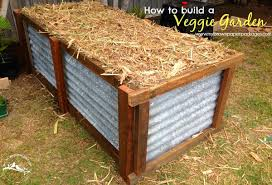 how to build a veggie garden my brown paper packages