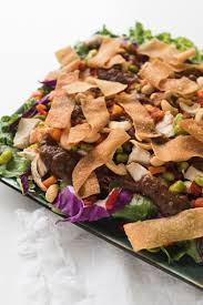 panera u0027s thai chicken chopped salad allfreecopycatrecipes com