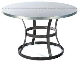 zinc top round dining table zinc top dining table zinc top dining table decorations zinc top