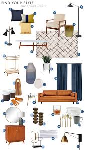 Midcentury Modern Finds Find Your Style Mid Century Modern Emily Henderson