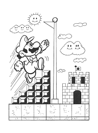 super mario bros coloring pages 316 free printable coloring