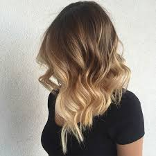 2015 hair colour trends wela full hair painting balayage and a blunt long bob for this beauty