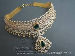 collar necklace sale images New model gold diamond choker necklace indian diamond gold choker jpg
