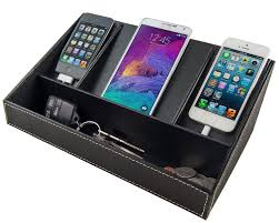 Electronic Charging Station Desk Organizer Stock Your Home Electronics Charging Station Uses