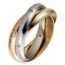 cartier rings price images Cartier trinity sauvage ring 3 gold lacquer diamonds price png
