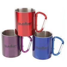 Mug Without Handle by Summit 300ml Mug Double Wall Carabina Handled 1 X Assorted