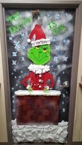 Christmas Office Door Decorations Holiday Door Decoration Contest 1st Place Accounting