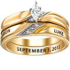 wedding ring with name engraved cheap wedding ring silver gold find wedding ring silver gold