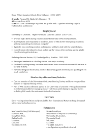 Job Skills Resume by Example Skills Based Cv
