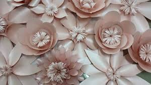 wedding backdrop philippines blush paper flowers backdrop 4x8ft wedding flower wedding