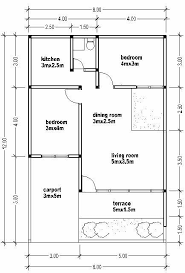 small house plans small house plan wide 8m house affair