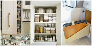 Kitchen Cupboard Interior Storage Popular Of Kitchen Cabinet Organization Ideas Organizing Kitchen