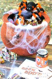 Gift Baskets For Halloween by Diy Cauldron Gift Basket A Party Of Four