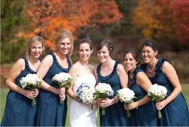 new modern wedding dresses real weddings navy bridesmaid dresses