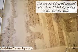 como remover papel de parede drywall