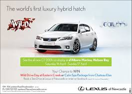 lexus ads press ads advertice