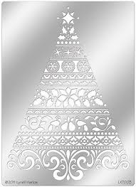 stendous ornate tree stencil dwlx7003 123stitch