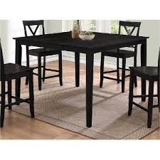 Counter Height Dining Tables Dining Room RC Willey - Counter height dining table in black