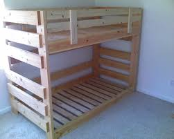Diy Pallet Bed With Storage by Best 25 Pallet Bunk Beds Ideas On Pinterest Bunk Bed Mattress